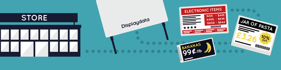 Displaydata Electronic Shelf Labels (ESLs) for IT