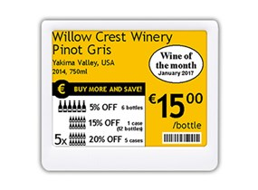 Our Range Of Eye Catching Electronic Shelf Labels